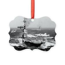 fdr cv lare framed print Ornament