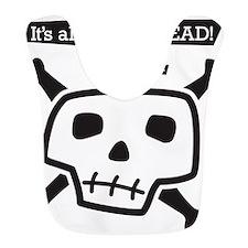 skull-back Bib