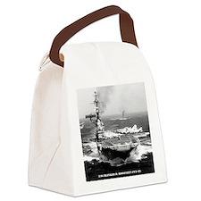 fdr cva framed panel print Canvas Lunch Bag