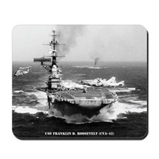 fdr cva framed panel print Mousepad