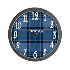 Hannay Clan Wall Clock