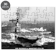 fdr lare framed print Puzzle