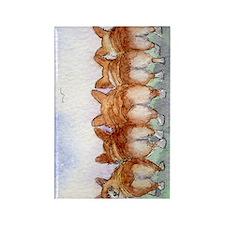 five walk away together journal Rectangle Magnet