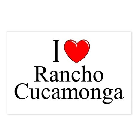 """""""I Love Rancho Cucamonga"""" Postcards (Package of 8)"""
