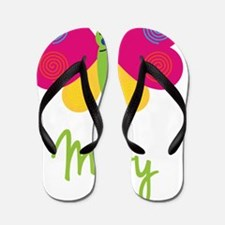 Mary-the-butterfly Flip Flops
