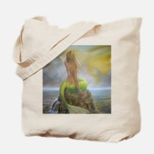 mermaids perch Tote Bag