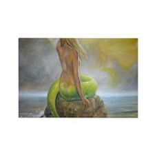 mermaids perch Rectangle Magnet