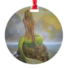 mermaids perch Ornament