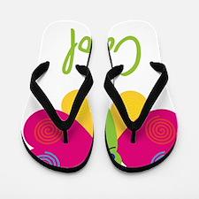 Carol-the-butterfly Flip Flops