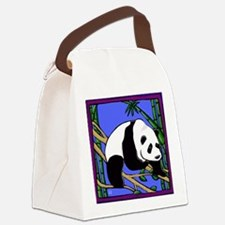 Panda2 Canvas Lunch Bag