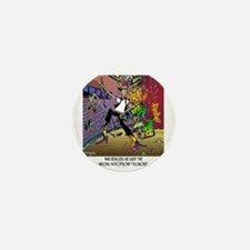 8716_singer_cartoon Mini Button