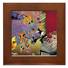 7567_audio_cartoon Framed Tile