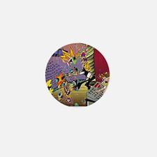 7567_audio_cartoon Mini Button