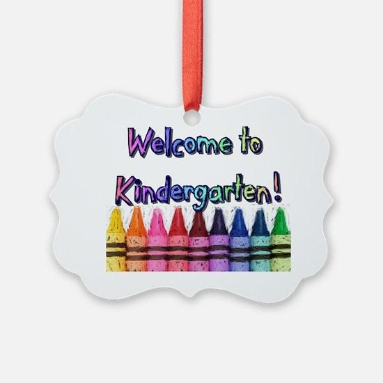 Kindergarten Ornament
