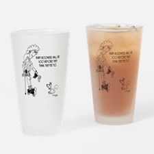 4100_boomer_cartoon Drinking Glass