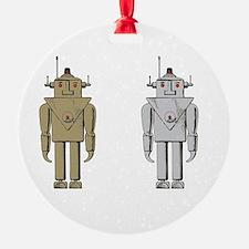 I Like Big Bots White Ornament