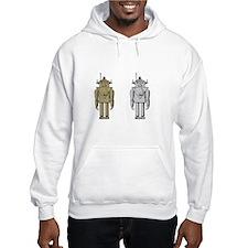 I Like Big Bots White Hoodie