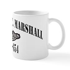 gcmarshall black letters Mug