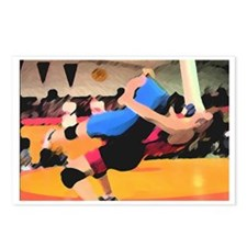 GrapplingGraphical Postcards (Package of 8)