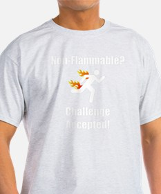 Non Flammable White T-Shirt