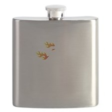 Non Flammable White Flask