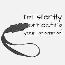 grammar3 Luggage Tag