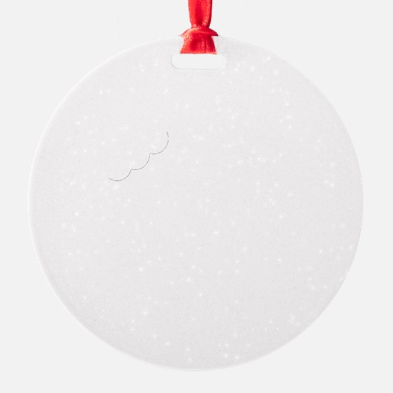 Mostly Muffin White Ornament