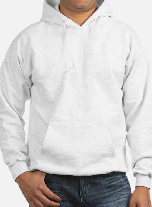 Mostly Muffin White Hoodie