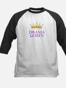 Drama Queen Kids Baseball Jersey