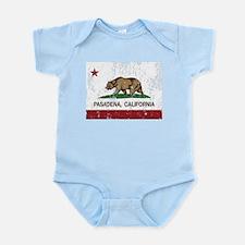 california flag pasadena distressed Body Suit