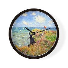 12mo Monet 3 Wall Clock