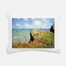 12mo Monet 3 Rectangular Canvas Pillow