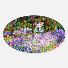 12mo Monet 9 Sticker (Oval)