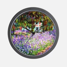 12mo Monet 9 Wall Clock