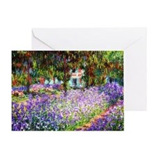12mo Monet 9 Greeting Card