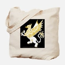 Graphic Gryphon White Gold Tote Bag