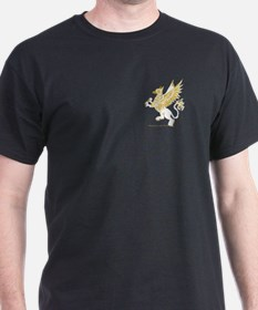 Graphic Gryphon White Gold T-Shirt