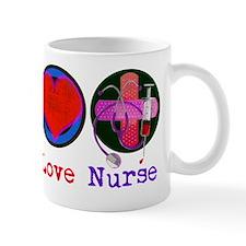peace_love_nurse_1 Mug