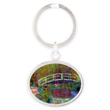 12mo Monet 13 Oval Keychain
