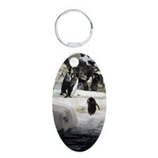 Antarctic Penguins Keychains