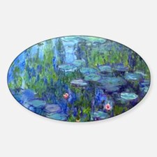 12mo Monet 20 Sticker (Oval)
