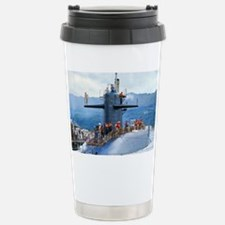 hclay framed panel print Travel Mug