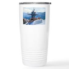 hclay lare  framed print Travel Mug