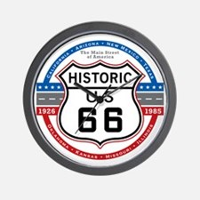 Route_66 Wall Clock