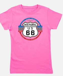 Route_66 Girl's Tee
