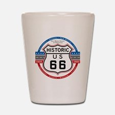 Route_66 Shot Glass