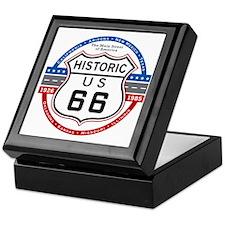 Route_66 Keepsake Box