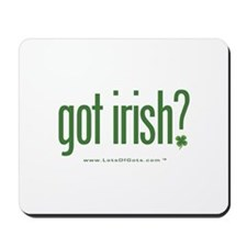 got irish? Mousepad