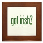 got irish? Framed Tile