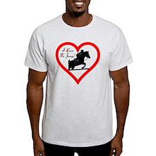 Heart_jump_ipod_trans T-Shirt